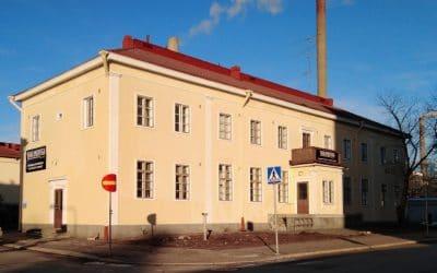 Vanha Postitalo toimii koronakriisin aikana